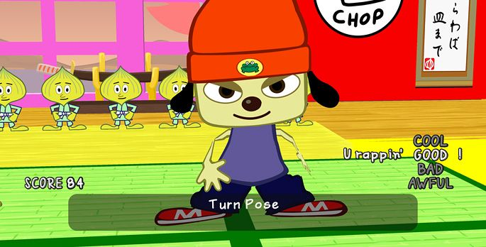 PaRappa the Rapper - Test