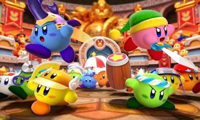 Kirby: Battle Royale - Screenshots - Bild 1