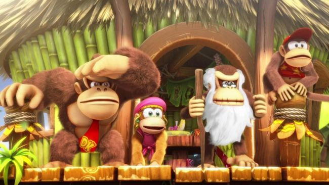 Donkey Kong Country: Tropical Freeze - Screenshots - Bild 1