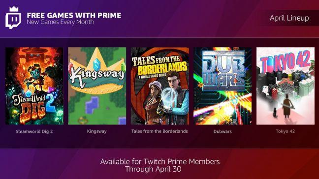 Twitch Prime Spiele