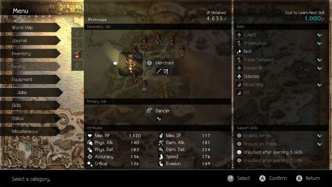 Octopath Traveler - Screenshots - Bild 10