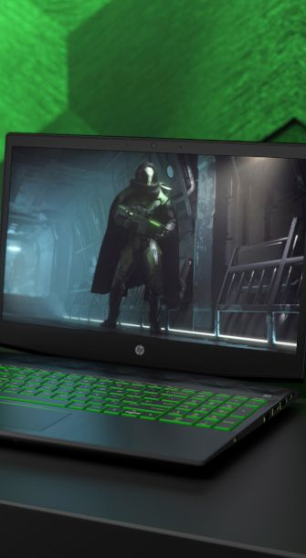 HP Pavilion Gaming Laptop 15-cx0003ng - Test