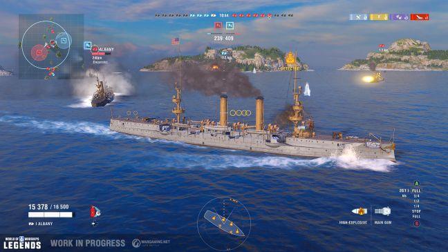 World of Warships: Legends - Screenshots - Bild 1