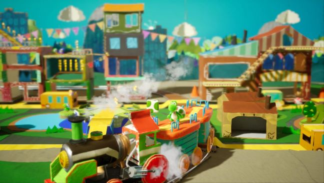 Yoshi's Crafted World - Screenshots - Bild 1