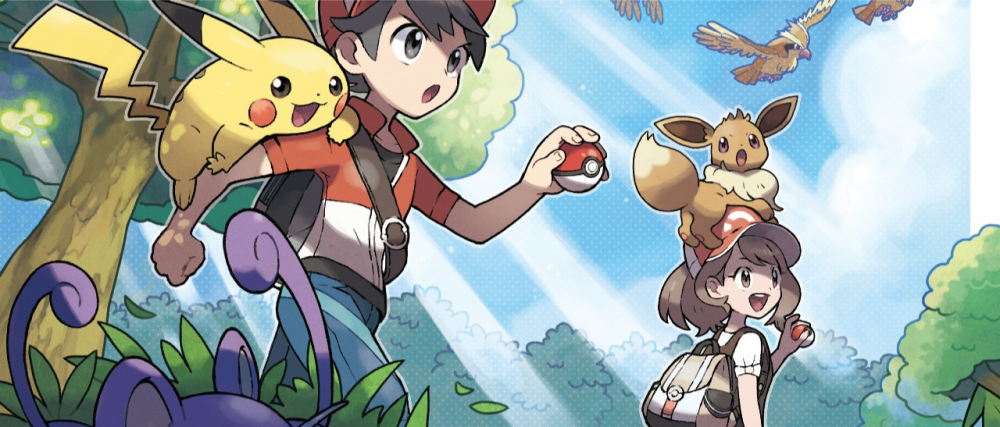 Pokémon Let's Go Pikachu / Evoli