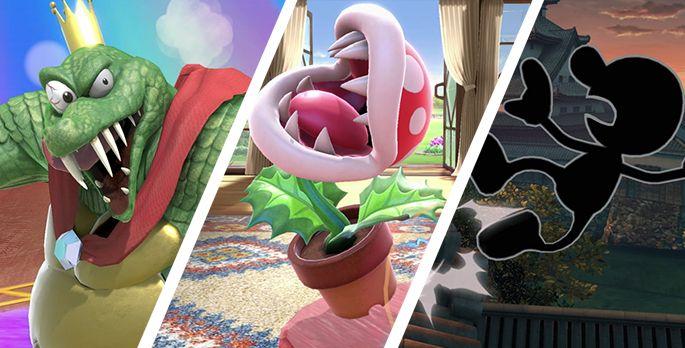 Top 10: Die schrägsten Smash-Charaktere - Special
