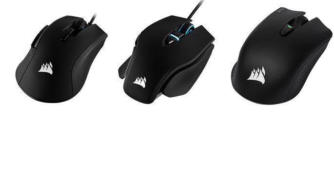 Die neuen Corsair-Mäuse - Test