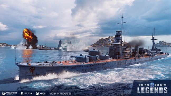 World of Warship: Legends - Screenshots - Bild 1