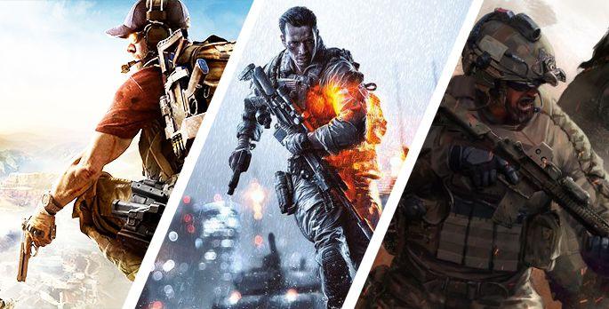 Top 10: Die besten Militärspiele - Special