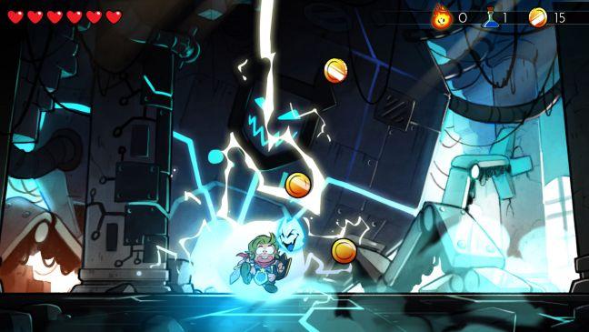 Wonder Boy: The Dragon's Trap - Screenshots - Bild 1