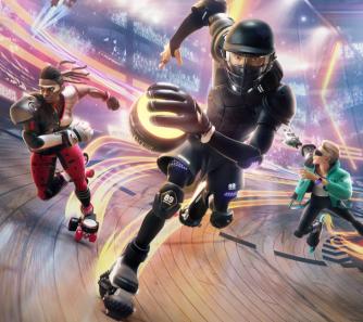 Rollerblades treffen auf eSport - Video