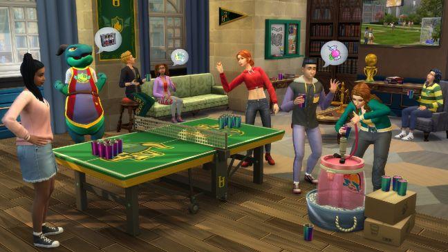 Die Sims 4: An die Uni - Screenshots - Bild 3