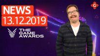 Gameswelt News 13.12.2019 - Mit den Game Awards 2019 und Ghost of Tsushima