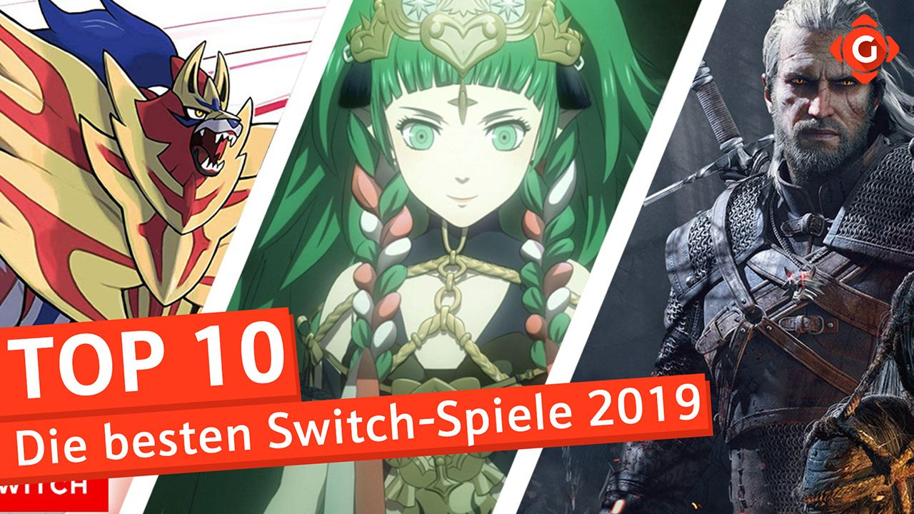 Top 10 - Switch-Spiele 2019