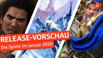 Release-Vorschau Januar 2020 - Yakuza: Like a Dragon, Journey to the Savage Planet und mehr
