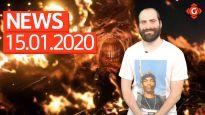 Gameswelt News 15.01.2020 - Mit Resident Evil 3 Remake, DOOM Eternal und Red Dead Online