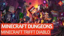 Minecraft trifft auf Diablo - Video-Review zu Minecraft Dungeons