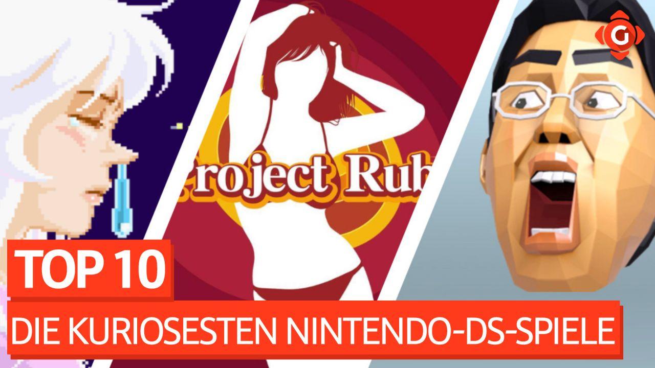 Top 10 - Die kuriosesten Nintendo-DS-Spiele