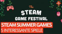 5 Spiele die man im Auge behalten sollte - Das Steam Summer Games Festival 2020