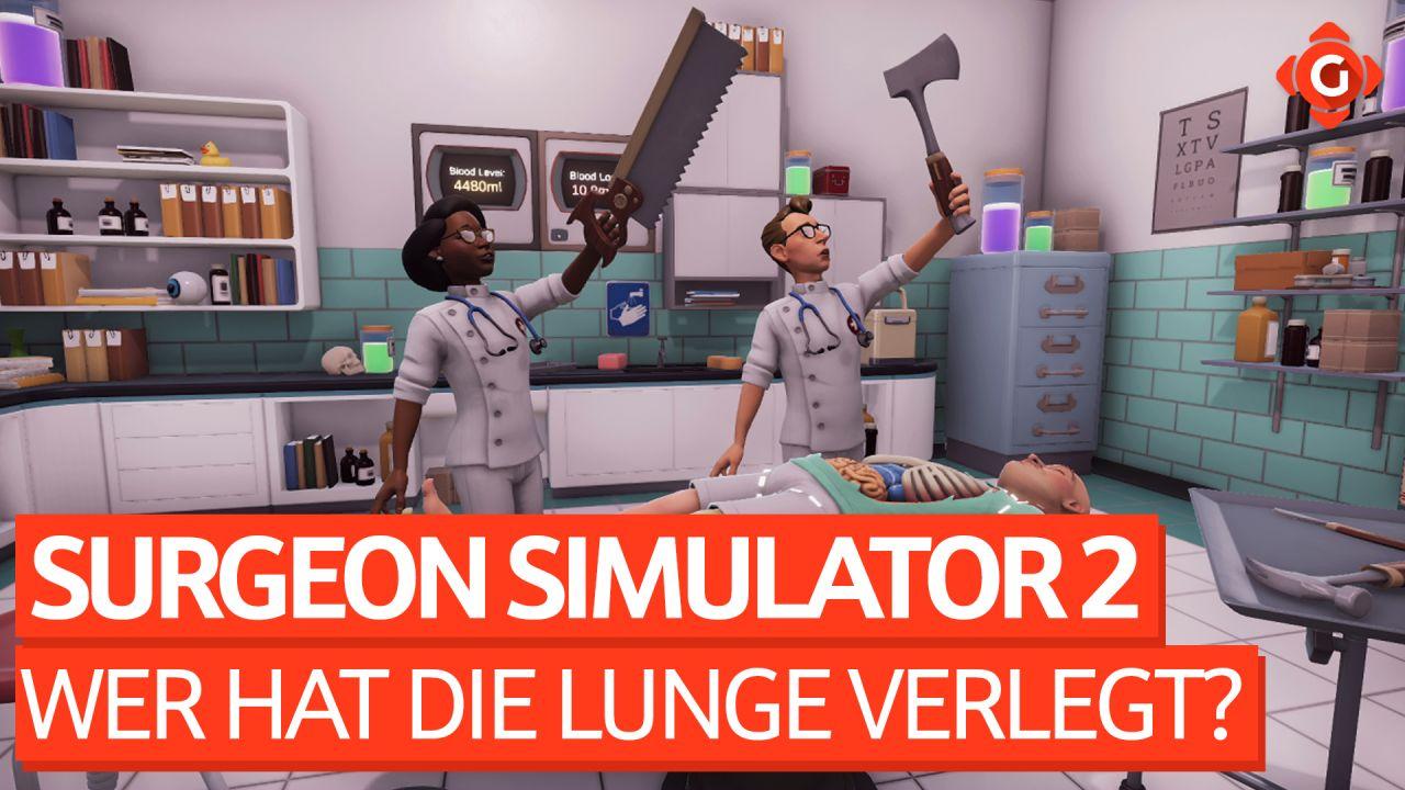 Wer hat die Lunge verlegt? - Zocksession zu Surgeon Simulator 2