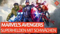 Superhelden mit Schwächen - Felix Meinung zu Marvel's Avengers