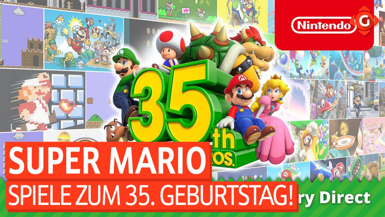 Gameswelt News 03.09.2020 - Mit Super Mario, The Division 2 und mehr