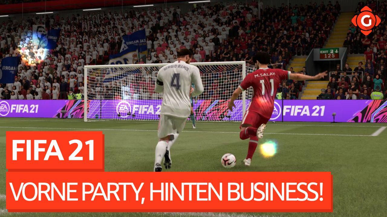 Vorne Party, hinten Business! - Video-Review zu FIFA 21