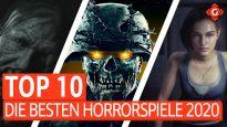 Top 10 - Die besten Horrorspiele 2020