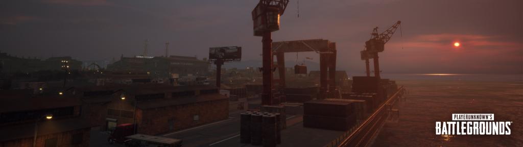PlayerUnknown's Battlegrounds:Docks
