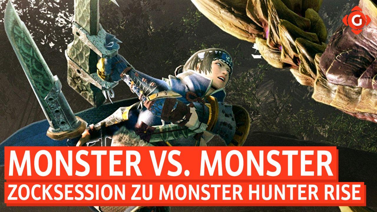 Monster vs. Monster - Zocksession zu Monster Hunter Rise mit Special Guest