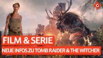Gameswelt News 26.01.2021 - Mit Tomb Raider Film und Witcher Serie, Lego Star Wars und mehr