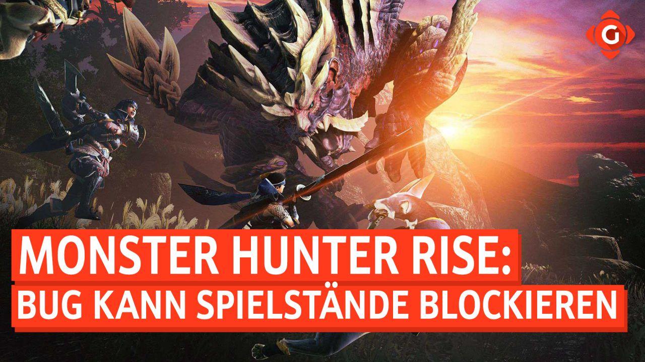 Gameswelt News 30.03.2021 - Mit Monster Hunter Rise, Wreckfest und mehr