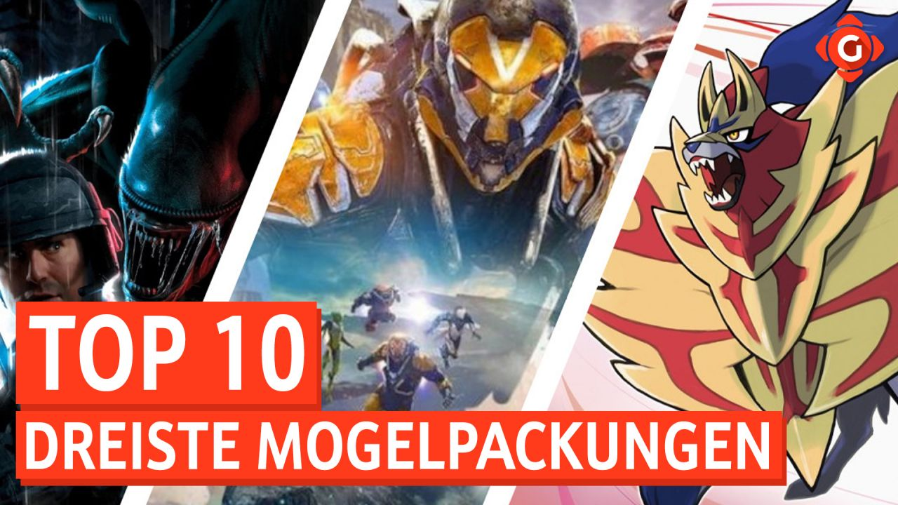 Top 10 dreiste Mogelpackungen - Spiele, die ursprünglich ganz anders aussahen
