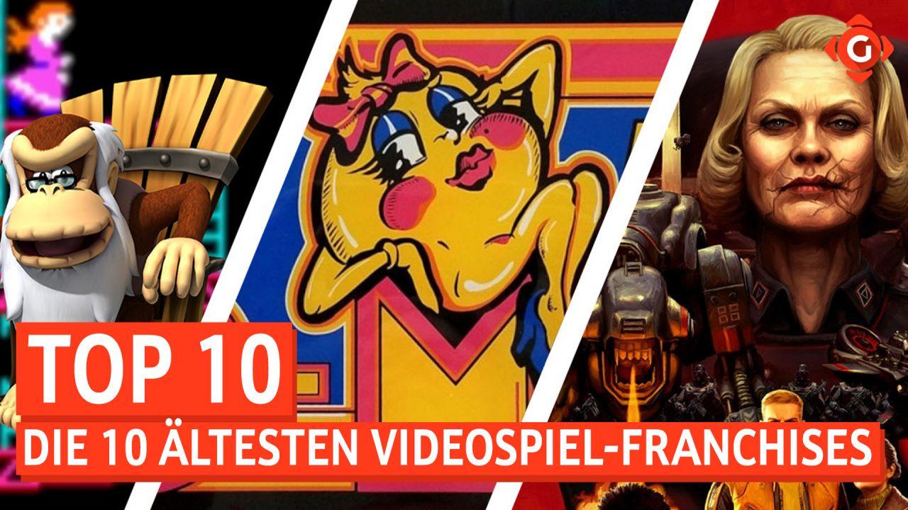 Top 10 - Die ältesten Videospiel-Franchises