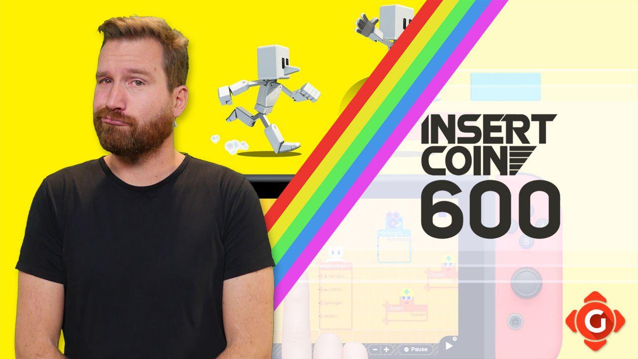 Insert Coin #600 - Olympische Spiele, Spielestudio und mehr