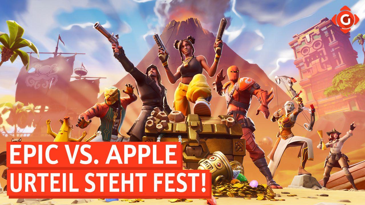 Gameswelt News 13.09.2021 - Mit Epic vs. Apple, Redfall und mehr