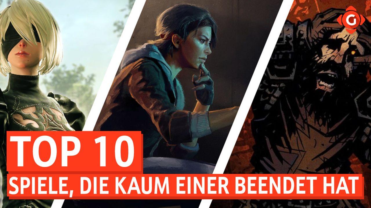Top 10 - Spiele, die kaum einer beendet hat