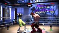 Facebreaker - Gameplay: Spin vs. Molotov