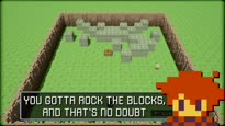 3D Dot Game Heroes - Rap Minigame Trailer