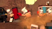 LEGO Star Wars III: The Clone Wars - Troopers Working Out Trailer
