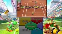 Mario Tennis Open - Staaart! Ein komplettes Multiplayer-Match
