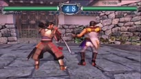 SoulCalibur 2 HD Online - Mitsurugi vs. Maxi Gameplay Trailer