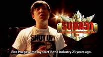 Fire Pro Wrestling World - Suda51 Trailer