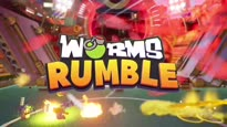 Worms Rumble - Release Date & Open Beta Announcement Trailer