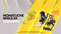 PlayStation Plus - December 2020 Free Games Trailer