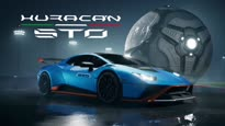 Rocket League - Lamborghini Huracan STO Trailer